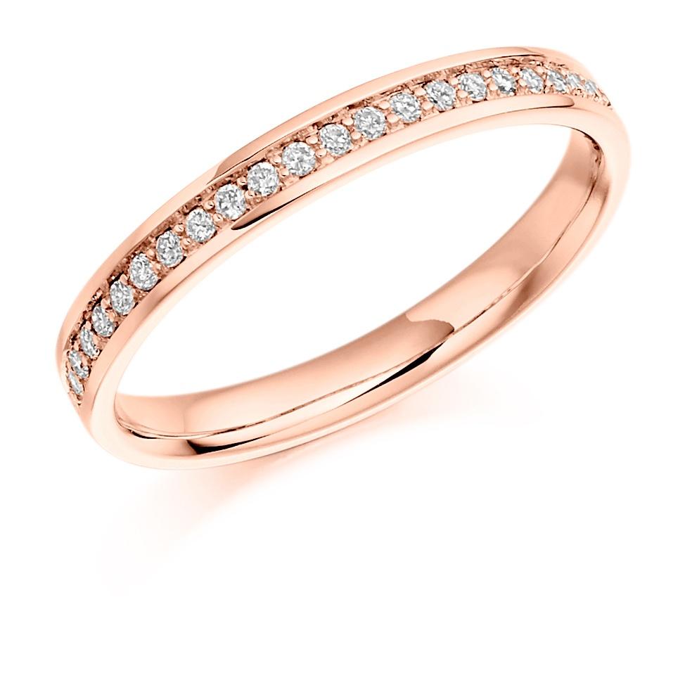 Vintage Grain Set Diamond Ring